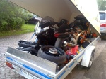 And TFM equipment packed. Taxi 911 1580cc Twingas + GSX1400R '0x NOS! More to follow...