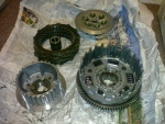 Clutch from eBay. Cheap replacement parts. :)