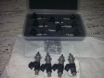 Here we go again. Bigger 390cc injectors (from Honda S2000) have arrived.